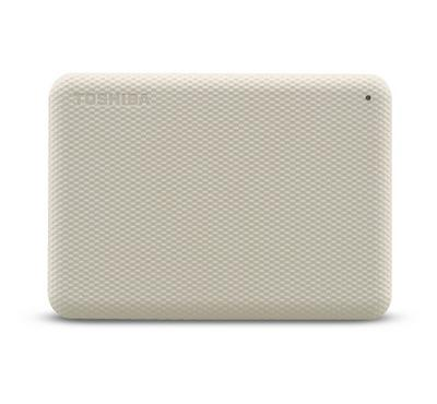 Toshiba CANVIO ADVANCE, External Hard Disk Drive, 4TB, Light Beige