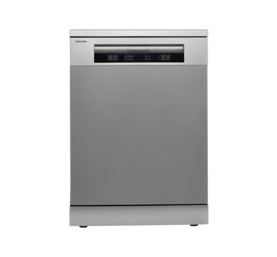 Toshiba Dish Washer, 14 Place Settings, 6 Programs, Silver