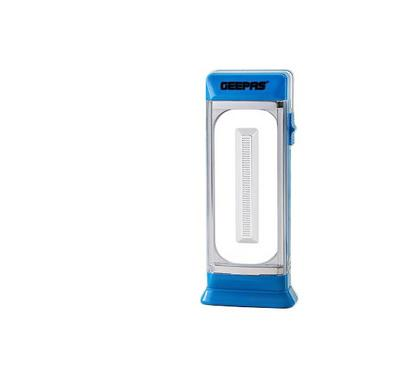 Geepas, Rechargeable LED Emergency Lantern, Blue/White