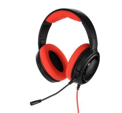 Corsair HS35 Stereo Headset, Black & Red