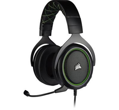 Corsair HS50 Pro Stereo Headset, Green