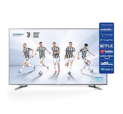 Skyworth, 75 Inch 4K UHD, Smart LED TV, 75SUC9300