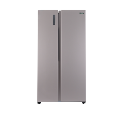 Hisense Side By Side 508ltr 17.9 Cu.Ft, Total No Frost, Multi Air Flow, Gold