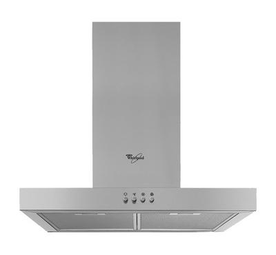 Whirlpool Cooker Hood Wall-Mounted 60 cms, Stainless Steel,