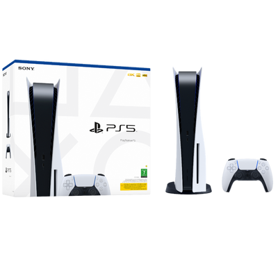PlayStation5 Blu-Ray Disc with DualSense5 Wireless Controller Bundle
