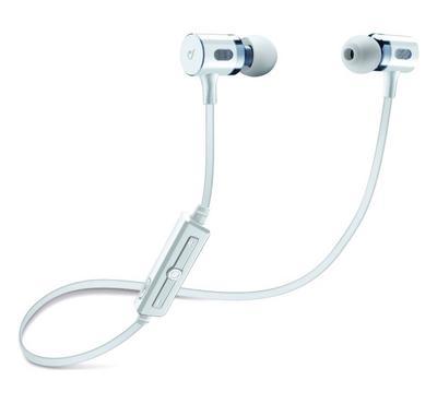 سيلولارلاين سماعة داخل الاذن بلتوث مع ميكروفون، أبيض
