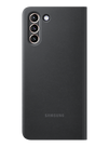 Samsung Galaxy Smart Clear View Case for S21 Plus, Black