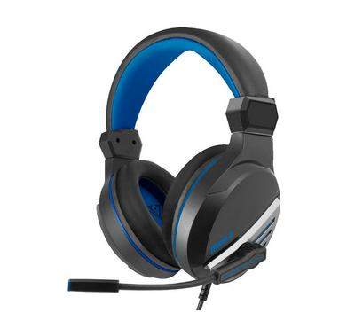 Vertux, Manila Wired Gaming PC Headset, Blue
