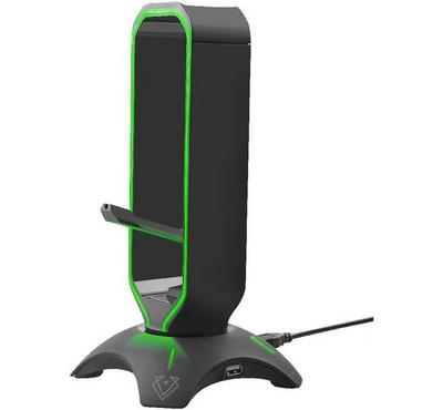 Vertux, Extent 3in1 Multi-Purpose Gaming PC Headset Stand, Black