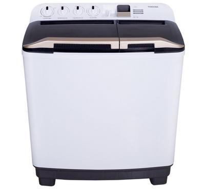 Toshiba Twin Tub Washer 8kg, Multi-Function Panel, Easy Kit,White