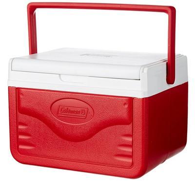 كولمان، صندوق ثلج، 4.7 لتر، أحمر