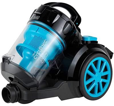 Black+Decker 2000W Vacuum Cleaner, 4 Ltrs Capacity, 6 Stage Filtrations,Black / Blue