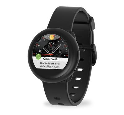 Mykronoz ZEROUND3 LITE 45mm Smart Watch With Heart Rate Monitor, Black