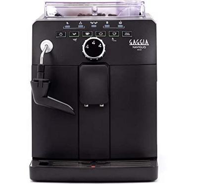Gaggia Naviglio Milk One-Touch Cappuccino and Espresso Machine, Black