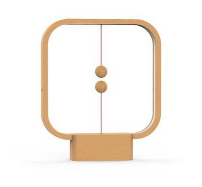 Allocacoc, Heng Balance Lamp Square Usb, Light Wood