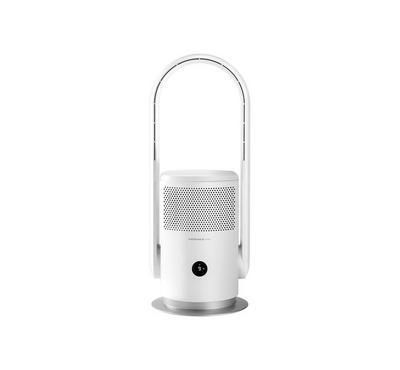 Momax, Ultra-Air Smart Iot Uv Purifying Fan, White