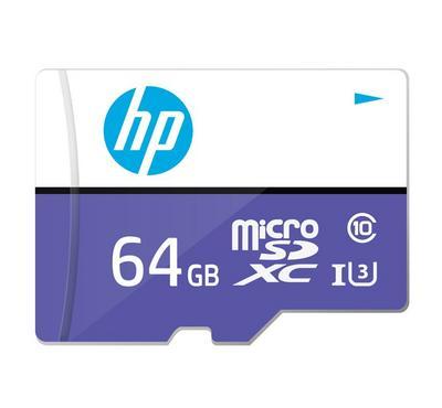 إتش بي بطاقة ذاكرة  مايكرو اس دي بسعة 64 جيجابايت