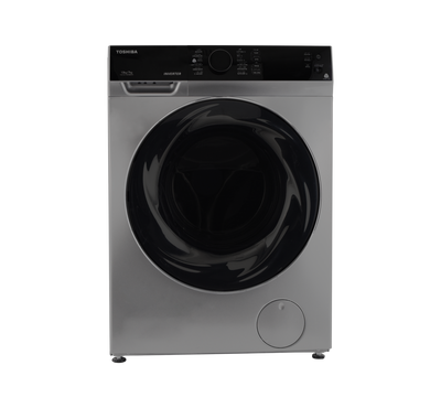 Toshiba Front Load Washer Dryer Combo 10/7Kg Inverter 50/60Hz, Silver