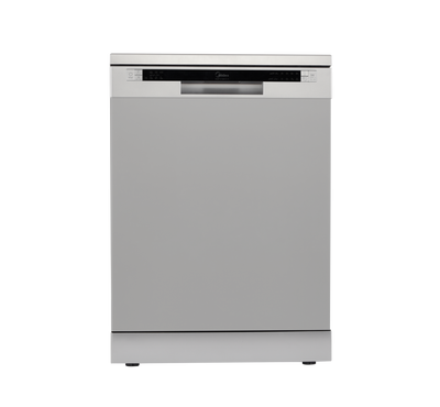Midea Dishwasher, 12 Place Setting, 7 Programs, LED Display, Silver