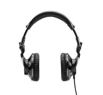 هرقل، سماعات رأس دي جي سلكية، عزل للضوضاء، أسود/فضي
