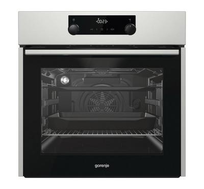 Gorenje 71L Buit-Inelectric oven, Supersize baking area, Stainless steel