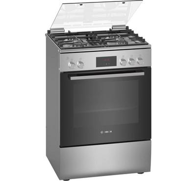 Bosch 60x60cm Gas Cooking Range Grill Digital LED Full Safety Stainless Steel