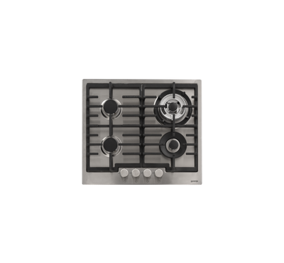 Gorenje Buit in gas hob, 4 burners,Single handed ingnition device, Stainless steel