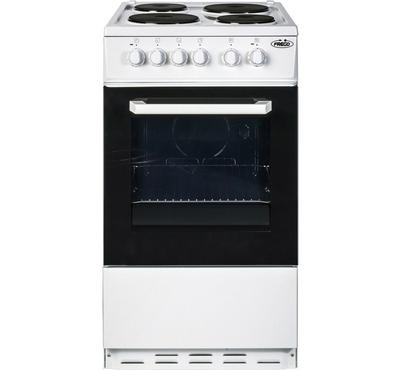 Frego Electric Cooker, 4 Burner, 60X60, White