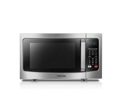 Toshiba 42L Grill Microwave, 1500W, Digital, Steel, 220v, Black/Stainless