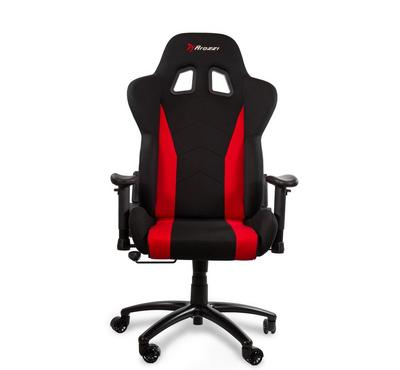 Arozzi, INIZIO PC Gaming Chair With Adjustable Armrest Fabric, Red