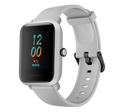 Amazfit BIP S A1821 42mm Basic Fitness Smartwatch, White Rock