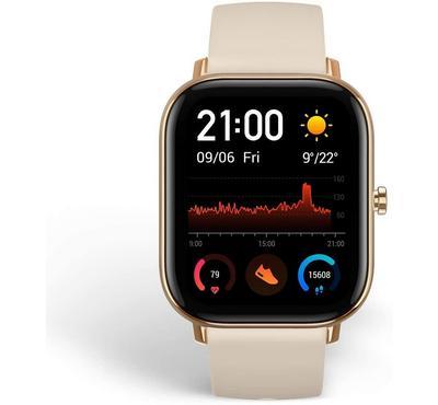 Amazfit GTS A1914 43mm Fashion Fitness Smartwatch, Desert Gold