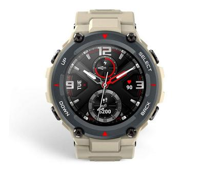 Amazfit T-REX 47mm Sport Military Grade Smartwatch, Khaki