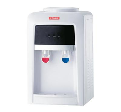 Power Water Dispenser, Hot & Cold Table Top, 220-240V, White.