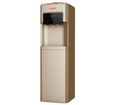 Power Water Dispenser, Hot & Cold Cabinet, 220-240V, Gold.