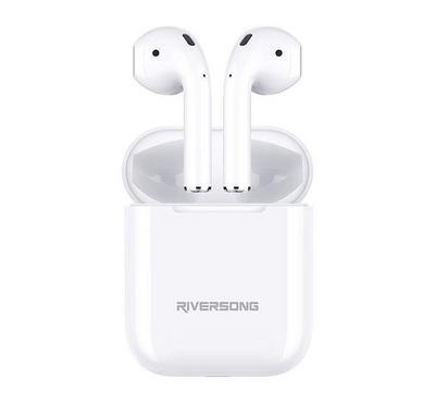 Riversong Air X5+ TWS Earphones, White.