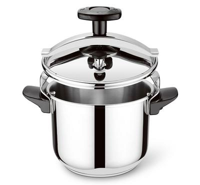 Bluemen Classic Pro Pressure Cooker, 8 Ltr Capacity, Stainless Steel.