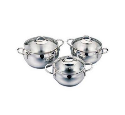 Korkmaz, Cookware Tombik JR 6 Pcs Set, Stainless Steel