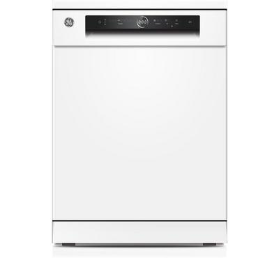GE Dishwasher, 14 Place Settings, 8 Programs, Self Cleaning Filter, White