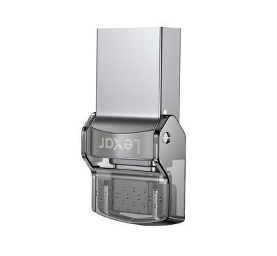 Lexar, JumpDrive D35c, 32GB, Silver
