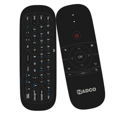 NADCO, Infrared Remote, Air Mouse, Wireless Keyboard, LED+ Lithium Battery