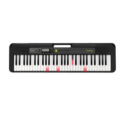 كاسيو، بيانو 61 مفتاح مضيء، 48 نوتة متعددة الأصوات، 400 نغمة، أسود