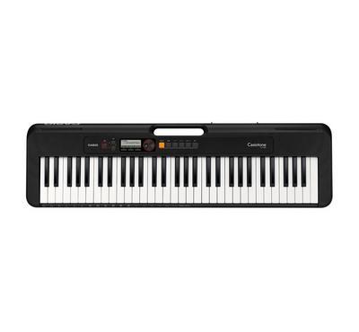 كاسيو، بيانو 61 مفتاح، 48  نوتة متعددة الأصوات، 400 نغمة، 60 أغنية، أسود