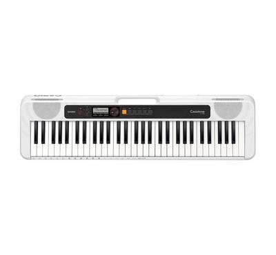 كاسيو، بيانو 61 مفتاح، 48  نوتة متعددة الأصوات، 400 نغمة، 60 أغنية، أبيض