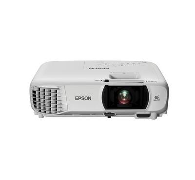 Epson, Wireless Full HD 3LCD Screen Projector, 3400lm, White