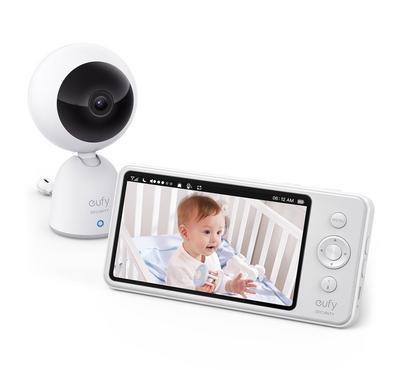 Eufy, Security Baby Monitor, 5 inch display, Baby Monitor(Non PT) - Gray