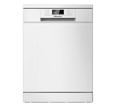 Hisense Free Standing Dishwasher, 13 Place Setting, White