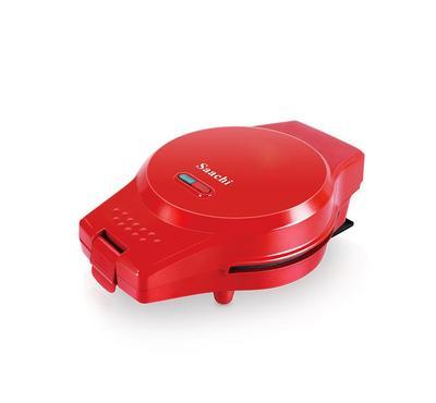 Saachi 4 in 1 Waffle / Donut / Cupcake / Cake Pop Maker, 220-240V, Red