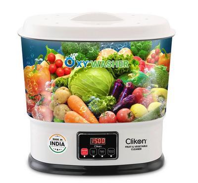 Clikon OXY 10.0L Digital Fruit Vegetable Washer Plastic Body 25W White