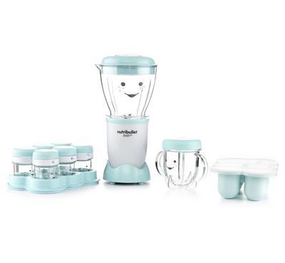 Nutribullet Baby Food Blender, 200W, 400ml, White/Turquoise